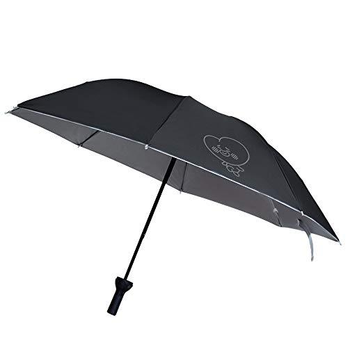 LYJZH Regenschirm - robust, windsicher und sturmfest, windfester Taschenschirm Bonbonfarbener Taschenschirm Sonnenschirm Farbe3 100cm