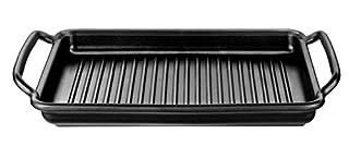 Monix Solid+ - Plancha con rayas 40 cm de aluminio fundido con antiadherente Teflon® Classic. (B008KO1Y26)   Amazon Products