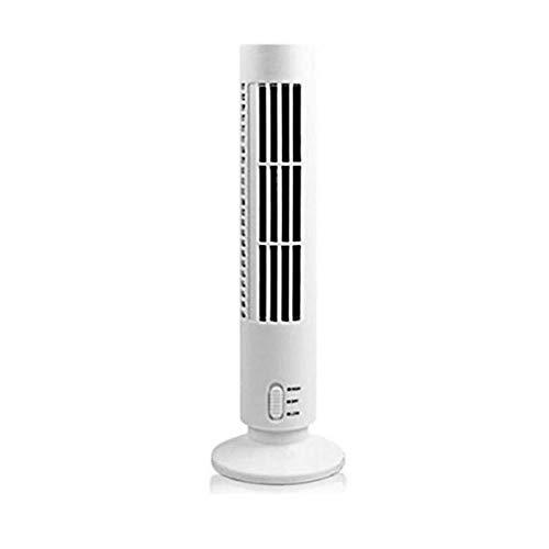 WANGYUJIE USB-Lüfter-Turmlüfter USB-Luftkühlgebläse Mini blattloser Handventilator,White