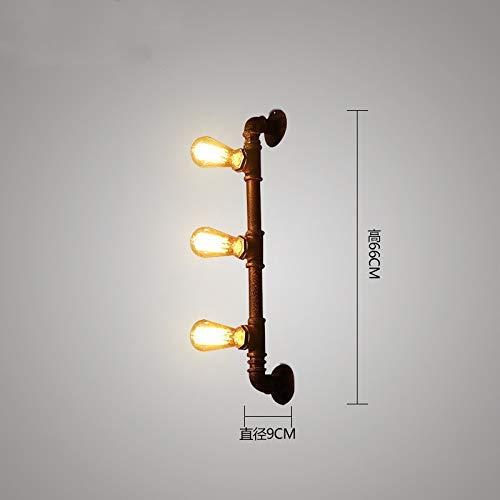 Leichte Retro Restaurant Bar Dekoration Lampe kreativ l Persönlichkeit Schmiedeeisen -