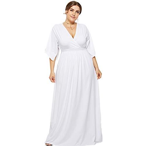 3bb295175 Vestidos Ibicencos Mujer Blanco ▷ 🥇 【 Rebajas Del -50% 】🥇