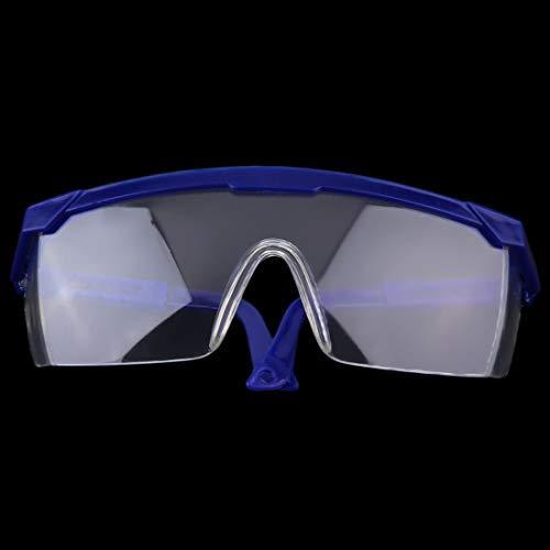 VBNC Seguridad en el trabajo Gafas protectoras para los ojos Anteojos Laboratorio Pintura contra el polvo Dental Industrial Anti-Splash Wind A prueba de polvo Gafas