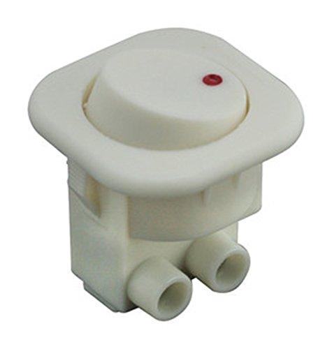 Interruttore unipolare da incasso basculante Contatto Protegido Electro dh: corpo e tasto bianco 11.477.i/B 8430552079292