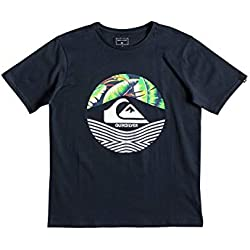 Quiksilver Stomped On Camiseta, Niños, Azul (Blue Nights), M