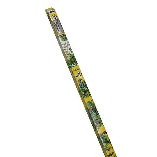 JBL 61613 Solar-Leuchtstoffröhre Sonnenlichtröhre für Aquarienpflanzen, 30 W, 895 mm, Solar Tropic Ultra T8