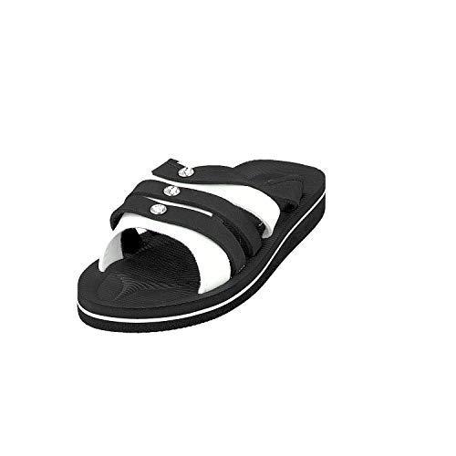Siebi's Beach Diamonds Badeschuhe Pantoletten und Freizeitschuhe Damen: Größe: 39 EU | Farbe: Schwarz
