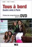Tous à bord. Fiches compréhension + DVD 1-2-3-4 (Chat Noir. methodes) - 9788431688080