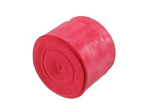 ChaRLes 25 × 1100 × 0,75 mm Anti-Slip-Tennis Schläger Griff Bänder Badminton Schläger Griff Band Squash-Band - Rot