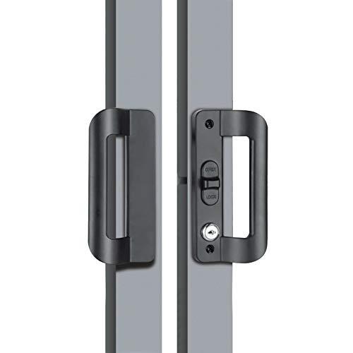 Noseiad Aleación de Aluminio Puerta corredera Manija de Cerradura Pue