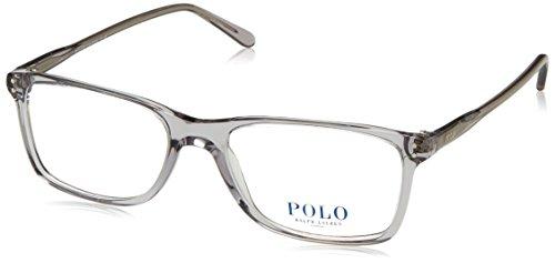 Preisvergleich Produktbild Polo Ralph Lauren - PH 2155,  Rechteckig,  Acetat,  Herrenbrillen,  TRANSPARENT LIGHT GREY(5413)