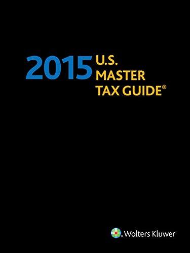 U.S. Master Tax Guidehardbound Edition (2015)