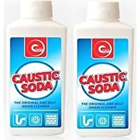 2 x Caustic Soda Powder Sink & Drain Cleaner Drain Unblocker Strong Cleaner 500g New