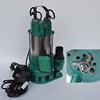 Profi Fäkalienpumpe V550 m. Schneidmesser zum zerkleinern organischer Feststoffe Fördermenge: 12000l/h = 200 l/min. Spannung: 230V / 50Hz / Leistung 550 Watt.