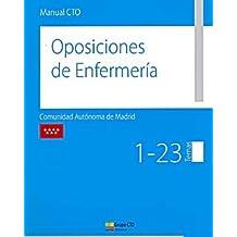MANUAL CTO OPOSICIONES DE ENFERMERIA COMUNIDAD AUTONOMA DE MADRID