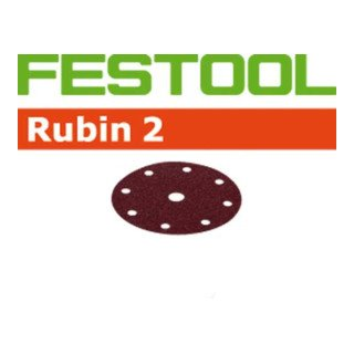 Preisvergleich Produktbild Festool Schleifscheiben STF D125 / 8 P180 RU2 / 50 Rubin 2
