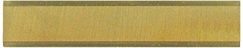 Leman 800.510.01 1 plaquette hm revet. titane k01 micro-grain 50x10x1,5/4 coupes Noir
