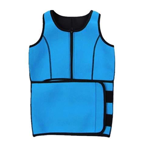 Gürtel Top Shirt (Monllack Frauen Body Shaper Top Shirt Abnehmen Taille Gürtel Yoga Sport Fitness Westen)