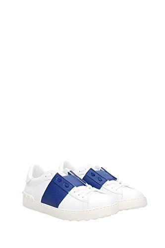 LY0S0830BBC437 Valentino Garavani Sneakers Homme Cuir Blanc Blanc