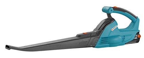 GARDENA Set Allround Bläser AkkuJet 18-Li: Akku-Laubbläser mit 18 V Motorleistung, 190 km/h Blasgeschwindigkeit, geringes Gewicht, bis 30 min. Arbeitszeit, inkl. Li-Ion Akku und Ladegerät (9335-20)