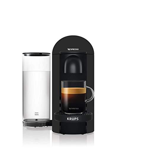 Nespresso Vertuo - Machine à café à capsules pour espresso ou café long - de 40 ml à 410 ml - Noir Mat - Krups YY3922FD
