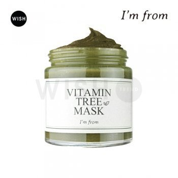 I'm From Vitamin Tree Mask 100g, Vitamin Leaves, Vitamin Water 11.5%, Wash-off by I'M From