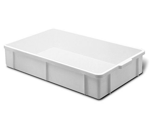 Giganplast Transport Cassetta, Plastica, Bianco, 60 x 40 x 20 cm