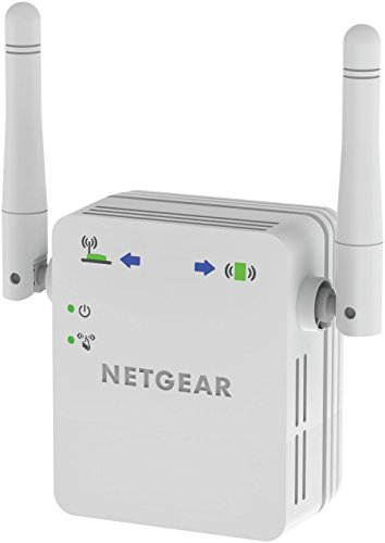 Netgear WN3000RP-200PES N300 Universal WLAN Repeater (300 MBit/s, LAN Port, WPS) Weiß (Wireless-n-router-dual-band)