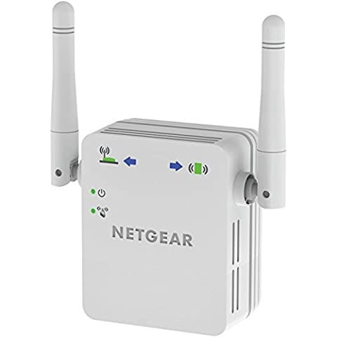 Netgear WN3000RP-200PES Ripetitore Wireless Universale, N300 Mbps, Access Point Mode,