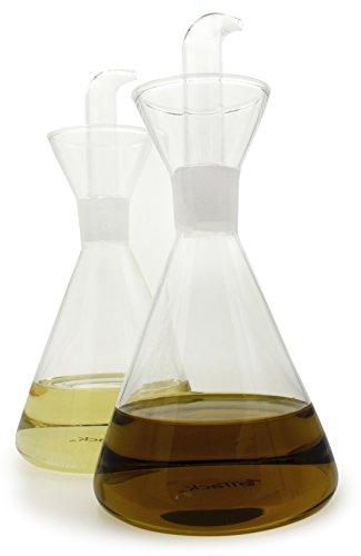 1aTTack Dispensador de aceite y vinagre, vidrio, Kegelform1, 500 ml