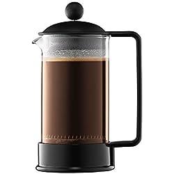 Bodum - 1543-01 - Brazil - Cafetière à Piston - 3 Tasses - 0.35 L - Noir