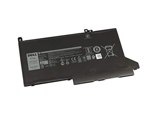 IPC-Computer Akku 42Wh Original DJ1J0 für Dell Latitude (7290), 12 (7000), 12 (7280), 13 (7380), 13 (7390), 14 (7490), 7480 (Computer Laptop Akku)