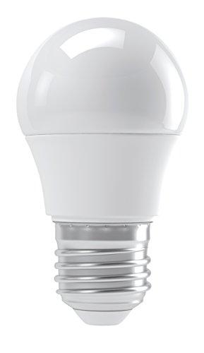 EMOS LED Glühlampe Classic Mini Globe 4W E27 Neutralweiß, Glas, 4 W, Transparent, 4,7 x 4,7 x 9 cm (4 Mini 100k)