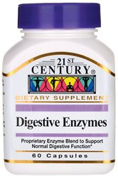 Tc Digestive Enzymes 60 Capsules
