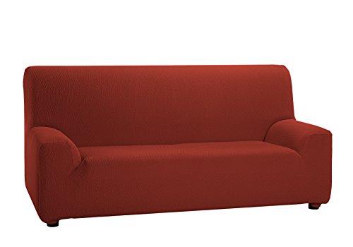 Martina Home - Copridivano elastico, 4 posti da 240 a 270 cm di larghezza, colore Piastrella