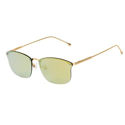 DelongKe Fashion Cat Eye Retro Sonnenbrille Mit Kleinem Rahmen, Polarisiert, Ultradünn, 100% UV-Schutz, UV400 Geeignet Für Herren Und Damen,pinklens