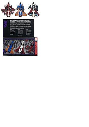 Hasbro Transformers Platinum Edition G1 Reissue Conehead Seeker Ramjet Thrust Dirge Set