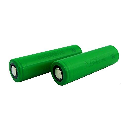 Preisvergleich Produktbild Murata VTC6 Akku - US18650VTC6-3120mAh - 30A -Batterie Flat top,  Menge:2 Stück