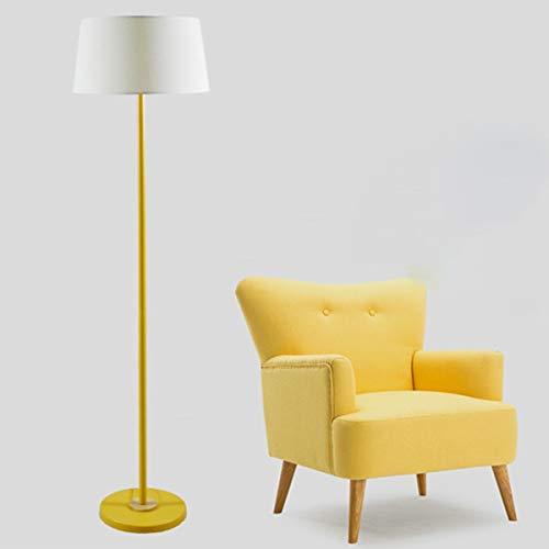 LAMPES DE SOL LED ZXC YWXLight Foot Lamp Lampadaire Macaron (Couleur : Jaune)