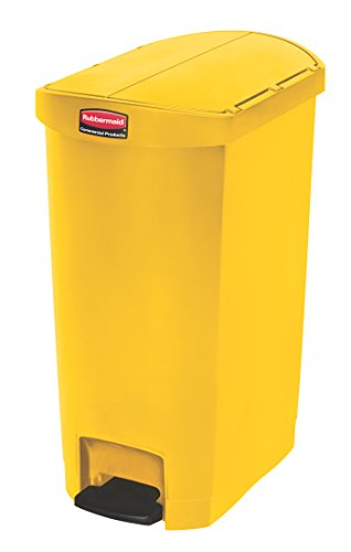 rubbermaid-slim-jim-1883576-50-litre-end-step-step-on-resin-wastebasket-yellow