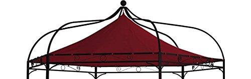 DEGAMO Ersatzdach für Pavillon Modena 6-eckig, bordeauxrot