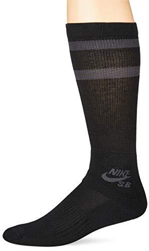 Nike SB 3PPK Crew Socks, Unisex, Erwachsene M Schwarz/Anthrazit