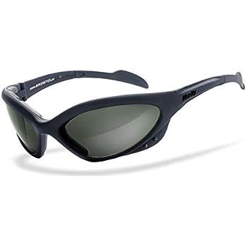 Brille: fender 2.0 Bikerbrille UV400 Schutzfilter Helly/® Brillengestell: schwarz matt H-FLEX/®- unzerbrechlich No.1 Bikereyes/® HLT/® Kunststoff-Sicherheitsglas nach DIN EN 166