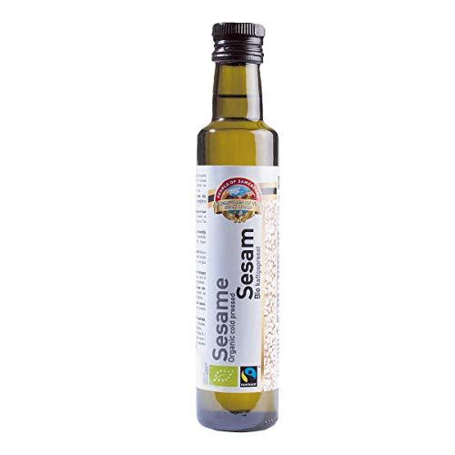 Aceite Sésamo Fairtrade presionado frío BIO 250