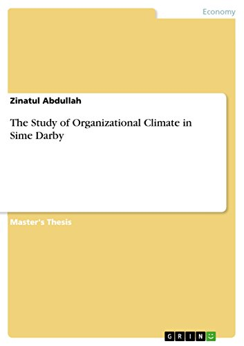 the-study-of-organizational-climate-in-sime-darby