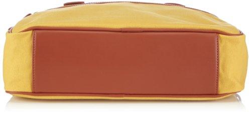 Bugatti Bags Phoenix 49573526 Unisex-Erwachsene Henkeltaschen 40x38x10 cm (B x H x T) Gelb (gelb 26)