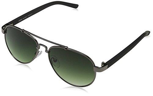 MSTRDS Mumbo Youth gafas de sol, Gris (gun/green 5166), única (Talla del Fabricante: One Size) para Niñas