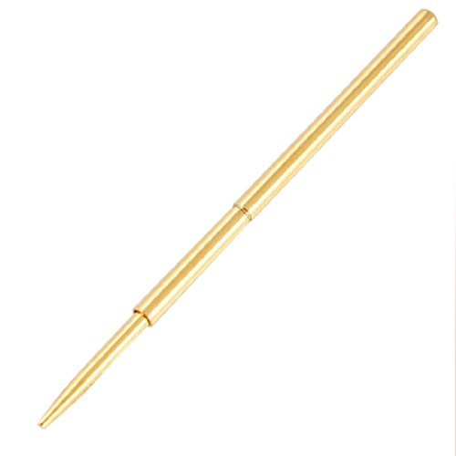 Prüfsonden mit Federung, 0,7mm abgewinkelte Spitze, 33mm Länge, 100 Stück -