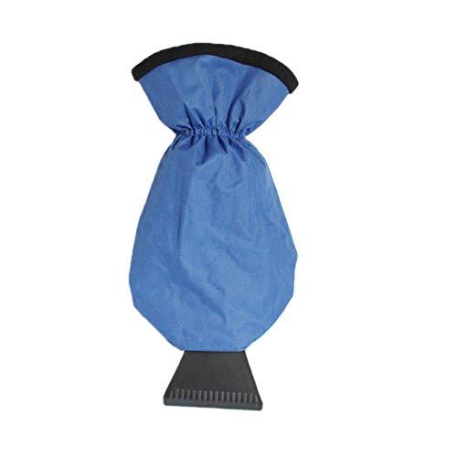 L Bleu Womdee Brosse Magique 2 en 1 pour Nettoyer la Glace et la Neige sur la Voiture