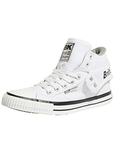 British Knights Unisex-Erwachsene ROCO Hohe Sneaker Weiß (White/Grey 20) 40 EU