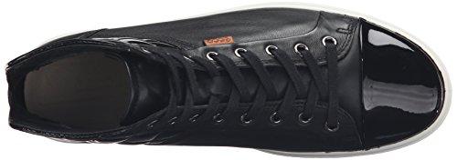 Ecco Soft 7, Baskets Basses Femme Noir (BLACK/POWDER58658)